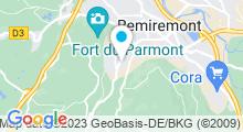 Plan Carte Centre Aquatique - Piscine de Remiremont