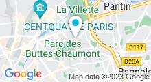 Plan Carte Piscine Georges Hermant à Paris (19e)