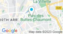Plan Carte Piscine Edouard Pailleron à Paris (19e)
