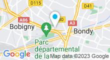 Plan Carte Centre nautique Jacques Brel - Piscine à Bobigny