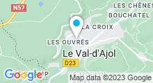 Plan Carte Piscine du Val d'Ajol