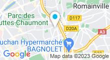 Plan Carte Piscine Georges Vallerey à Paris (20e)