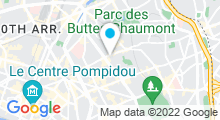 Plan Carte Piscine Alfred Nakache à Paris (20e)