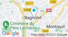 Plan Carte Piscine de Bagnolet