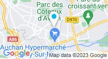 Plan Carte Piscine de Neuilly-Plaisance