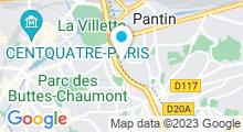 Plan Carte Piscine Fernand Blanluet du Pré-Saint-Gervais