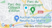 Plan Carte Piscine Plein Soleil de Neuilly-sur-Marne
