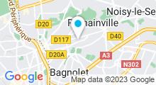 Plan Carte Piscine Mulinghausen aux Lilas
