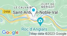 Plan Carte Piscine à St Antonin Noble Val