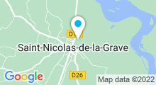 Plan Carte Piscine à St Nicolas de la Grave