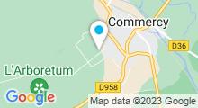 Plan Carte Piscine de Commercy