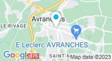 Plan Carte Centre Aquatique Aqua-Baie - Piscine à Avranches