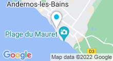 Plan Carte Piscine à Andernos les Bains