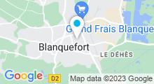 Plan Carte Piscine à Blanquefort