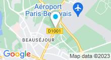 Plan Carte Piscine Aquaspace à Beauvais