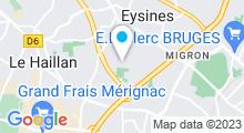Plan Carte Piscine du Pinsan à Eysines