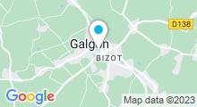 Plan Carte Piscine à Galgon