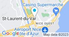 Plan Carte Piscine Saint Augustin à Nice
