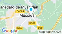 Plan Carte Piscine de Mussidan