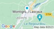 Plan Carte Piscine de Montignac