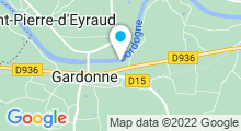 Plan Carte Piscine de Gardonne