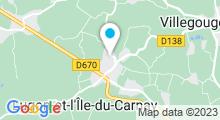 Plan Carte Centre aquatique et bien-être Lugon Bleu - Piscine à Lugon et L'Ile du Carney