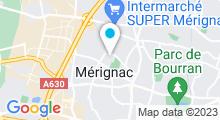 Plan Carte Stade nautique - Piscine à Merignac