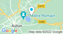 Plan Carte Centre nautique - Piscine d'Autun
