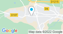 Plan Carte Espace aquatique - Piscine à St Medard en Jalles