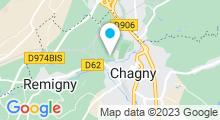 Plan Carte Piscine de Chagny