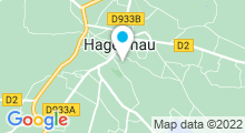 Plan Carte Centre aquatique - Piscine à Hagetmau
