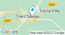 Plan Carte Centre Aquatique Aquavexin - Piscine de Trie Château