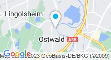 Plan Carte Piscine d'Ostwald