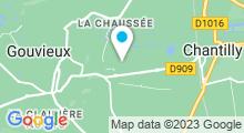 Plan Carte Centre Aquatique Aqualis - Piscine à Gouvieux