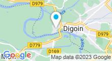 Plan Carte Stade Nautique - Piscine de Digoin