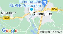 Plan Carte Piscine de Gueugnon