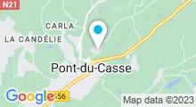 Plan Carte Piscine à Pont du Casse