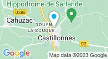 Plan Carte Piscine à Castillonnès