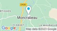 Plan Carte Piscine à Moncrabeau