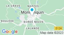 Plan Carte Piscine à Monflanquin