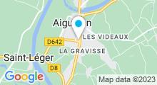 Plan Carte Piscine à Aiguillon