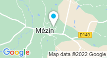 Plan Carte Piscine de Mézin