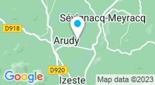 Plan Carte Piscine à Arudy