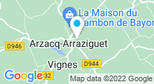 Plan Carte Piscine à Arzacq Arraziguet