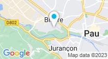 Plan Carte Piscine à Billère