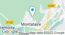 Plan Carte Piscine de Montataire