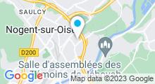 Plan Carte Centre Nautique - Piscine de Nogent sur Oise