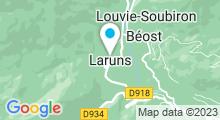 Plan Carte Piscine Ayguebère à Laruns