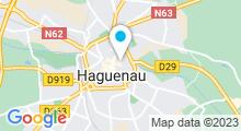 Plan Carte Piscine Nautiland à Haguenau