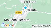 Plan Carte Piscine à Mauléon Soule